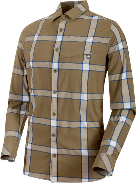 Mammut Mountain - T-shirt manches longues Homme - olive
